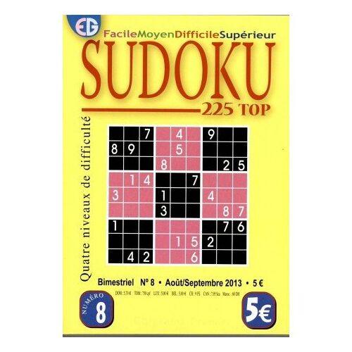 - NC - Sudoku 204 grilles numéro 8 - Preis vom 21.01.2021 06:07:38 h