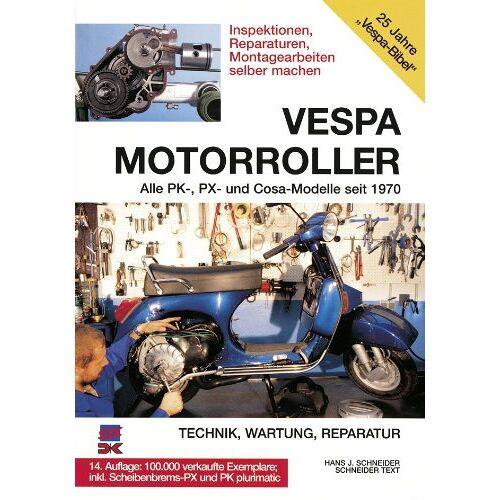 Hans-Jürgen Schneider - Vespa Motorroller - Preis vom 16.01.2021 06:04:45 h