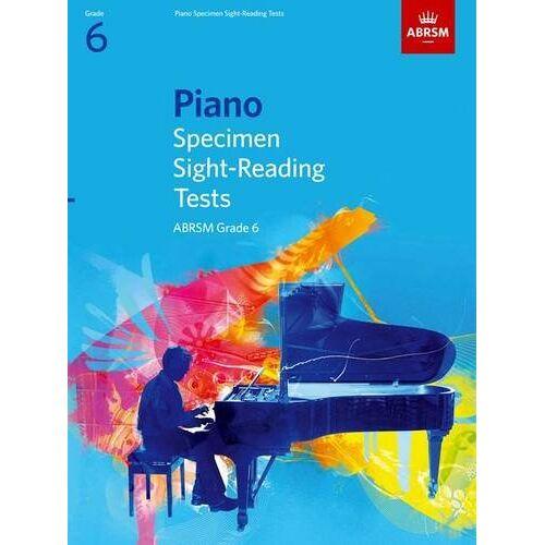 ABRSM - Piano Specimen Sight-Reading Tests, Grade 6 (ABRSM Sight-Reading) - Preis vom 14.01.2021 05:56:14 h