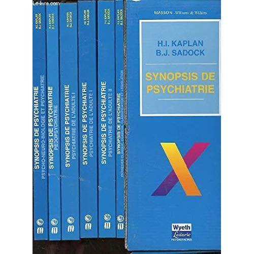 KAPLAN H. I. ET SADOCK B. J. - Psycho-neuro-biologie et psychiatrie (Synopsis de psychiatrie) - Preis vom 12.05.2021 04:50:50 h