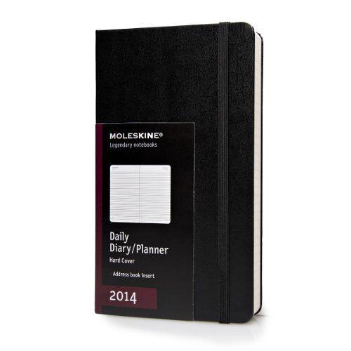 Moleskine - 2014 Moleskine Large Daily Diary Hard (Moleskine Diaries) (Planners & Datebooks) - Preis vom 27.02.2021 06:04:24 h