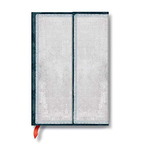 - Paperblanks - Faux Leder Weißer Feuerstein - Notizbuch Mini Liniert - Preis vom 17.04.2021 04:51:59 h
