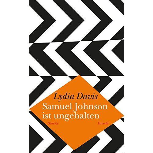 Lydia Davis - Samuel Johnson ist ungehalten: Stories - Preis vom 13.05.2021 04:51:36 h