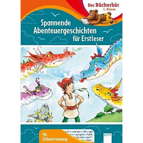 Frauke Nahrgang - Spannende Abenteuergeschichten für Erstleser: Der Bücherbär: 1. Klasse. Mit Silbentrennung - Preis vom 03.05.2021 04:57:00 h