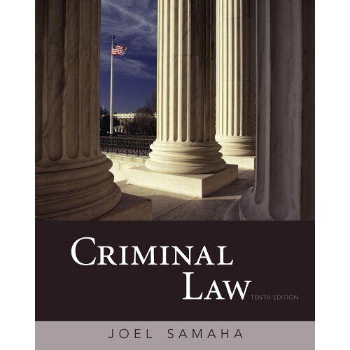 Joel Samaha - Criminal Law - Preis vom 13.05.2021 04:51:36 h