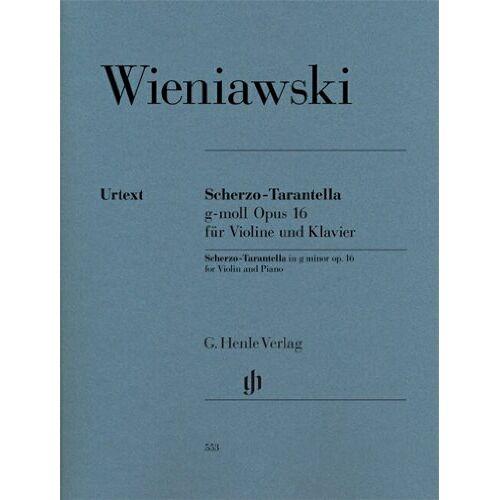 Henryk Wieniawski - Scherzo-Tarantella g-moll op. 16 für Violine und Klavier - Preis vom 21.04.2021 04:48:01 h
