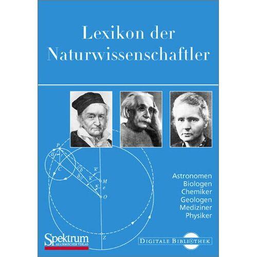 - Lexikon der Naturwissenschaftler - Preis vom 13.05.2021 04:51:36 h