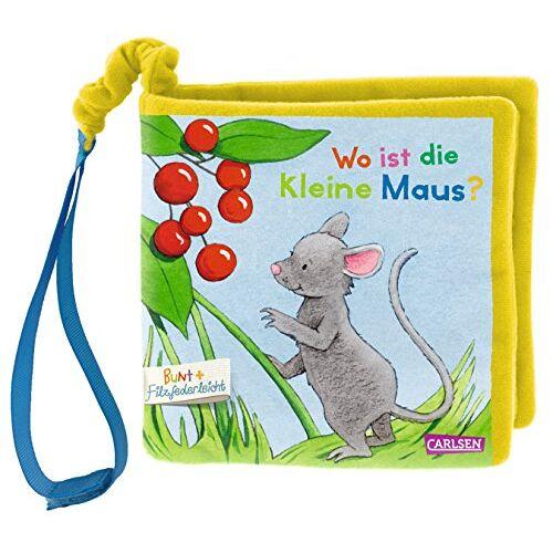 Julia Hofmann - Mein erstes BUNT+Filzfederleicht®-Buggybuch: Wo ist die kleine Maus? - Preis vom 15.04.2021 04:51:42 h