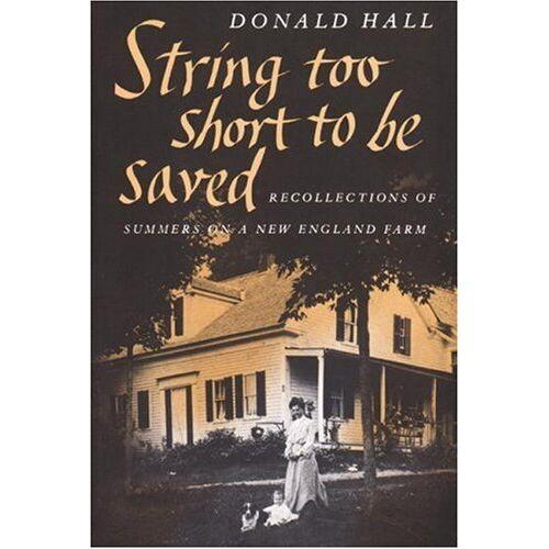 Donald Hall - String Too Short to Be Saved (Nonpareil Books) - Preis vom 27.02.2021 06:04:24 h