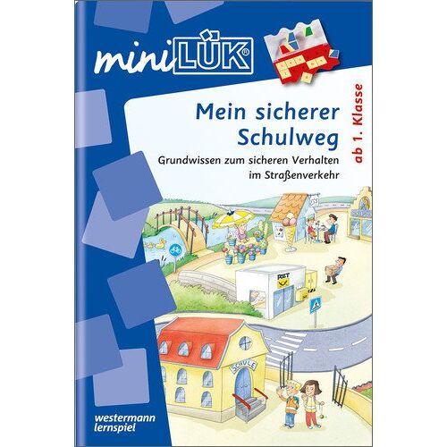 Heinz Vogel - miniLÜK: Verkehrserziehung / Mein sicherer Schulweg: Grundwissen zum sicheren Verhalten im Straßenverkehr - Preis vom 08.05.2021 04:52:27 h