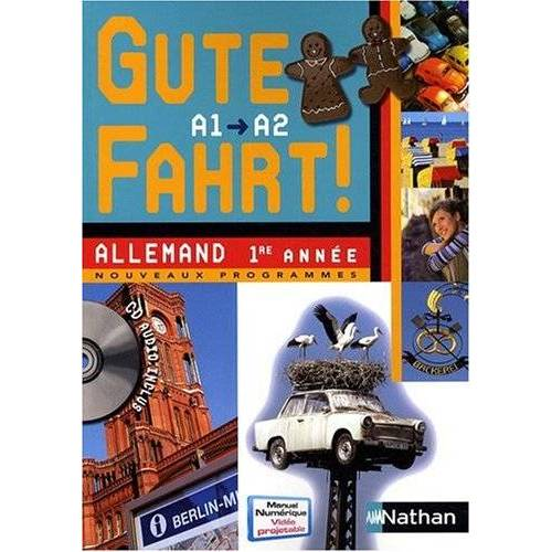Nils Haldenwang - Allemand 1re année A1/A2 Gute Fahrt ! (1CD audio) - Preis vom 27.02.2021 06:04:24 h