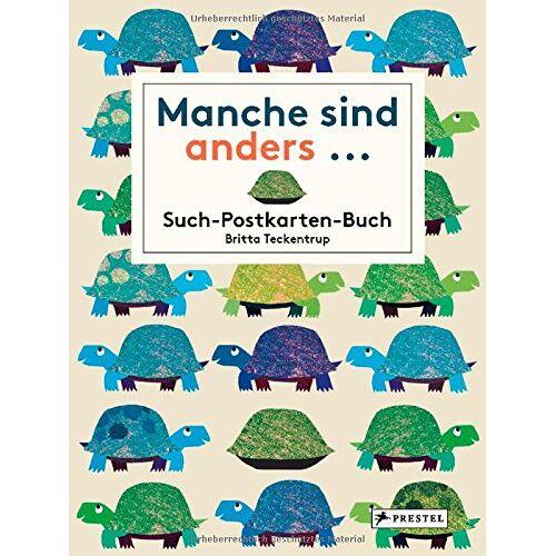 Britta Teckentrup - Manche sind anders... Postkarten-Buch: Such-Postkarten-Buch - Preis vom 23.02.2020 05:59:53 h