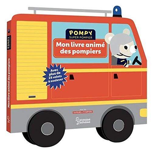 - Mon livre animé des pompiers (Pompy super pompier) - Preis vom 19.01.2021 06:03:31 h