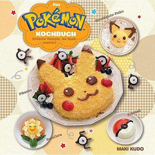Maki Kudo - Das Pokémon Kochbuch: Einfache Rezepte, die Spaß machen! - Preis vom 15.01.2021 06:07:28 h