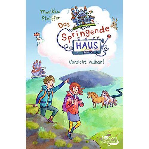 Marikka Pfeiffer - Das Springende Haus. Vorsicht, Vulkan! (Springendes Haus, Band 3) - Preis vom 16.05.2021 04:43:40 h