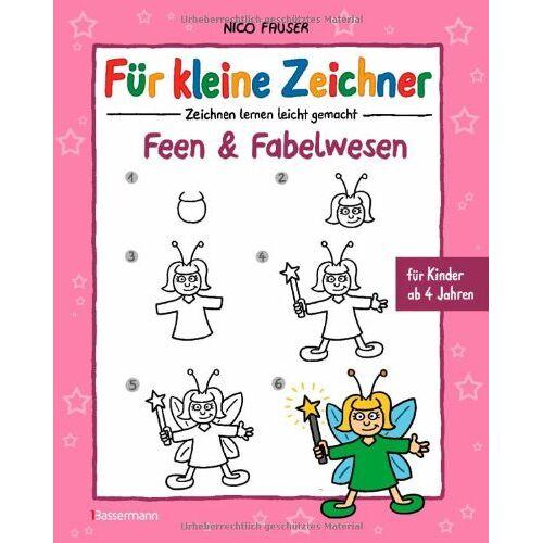 Nico Fauser - Für kleine Zeichner - Feen und Fabelwesen - Preis vom 05.08.2019 06:12:28 h