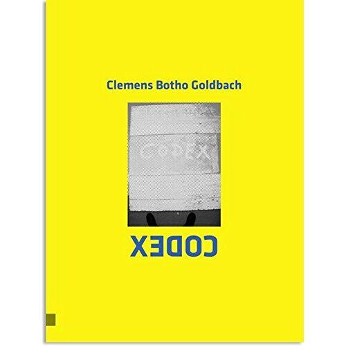 Goldbach, Clemens Botho - CODEX - Clemens Botho Goldbach - Preis vom 11.05.2021 04:49:30 h