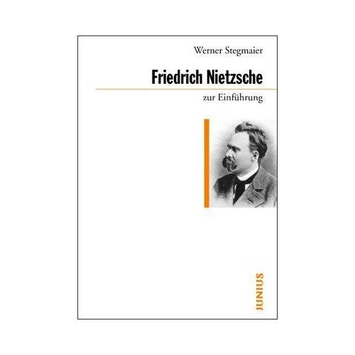Werner Stegmaier - Friedrich Nietzsche zur Einführung - Preis vom 20.10.2020 04:55:35 h