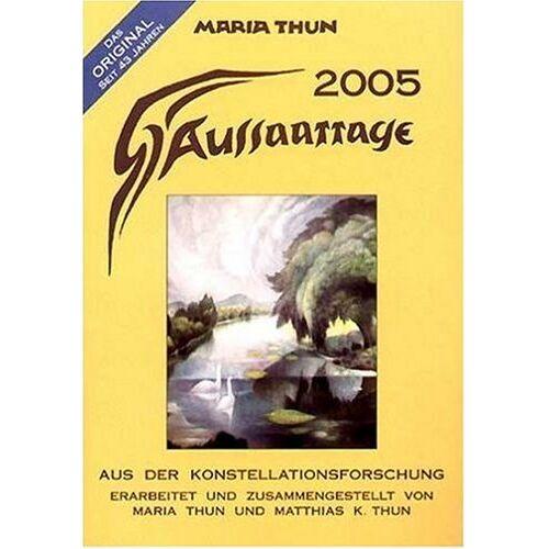 Maria Thun - Aussaattage 2005 - Preis vom 18.04.2021 04:52:10 h