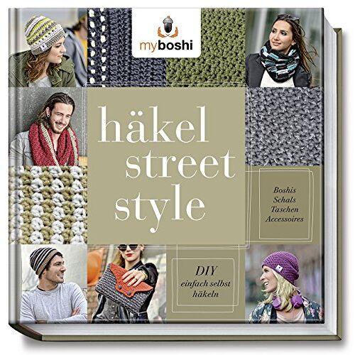 Thomas Jaenisch - myboshi Häkel-Street-Style: DIY - einfach selbst häkeln: Boshis, Schals, Taschen, Accessoires - Preis vom 20.10.2020 04:55:35 h