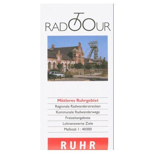 Kommunalverband Ruhrgebiet - Mittleres Ruhrgebiet 1 : 40 000. Radtour - Preis vom 21.10.2020 04:49:09 h