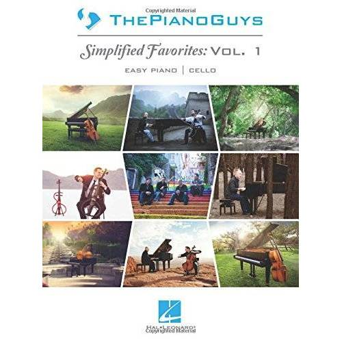 Piano Guys - The Piano Guys: Simplified Favorites, Vol. 1: Easy Piano/Optional Cello - Preis vom 26.02.2021 06:01:53 h