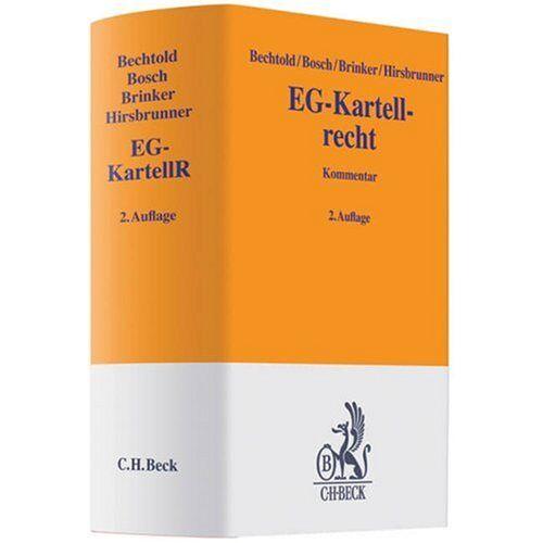 Rainer Bechtold - EG-Kartellrecht: Kommentar - Preis vom 21.10.2020 04:49:09 h