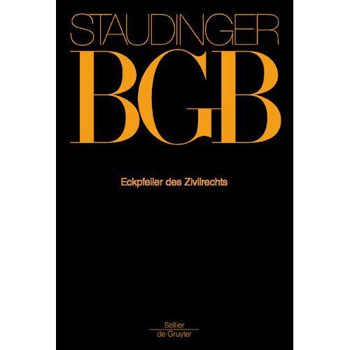 Staudinger, J von - Staudinger BGB - Eckpfeiler des Zivilrechts- - Preis vom 26.02.2021 06:01:53 h