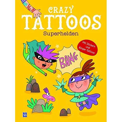- Crazy Tattoos - Superhelden - Preis vom 20.10.2020 04:55:35 h