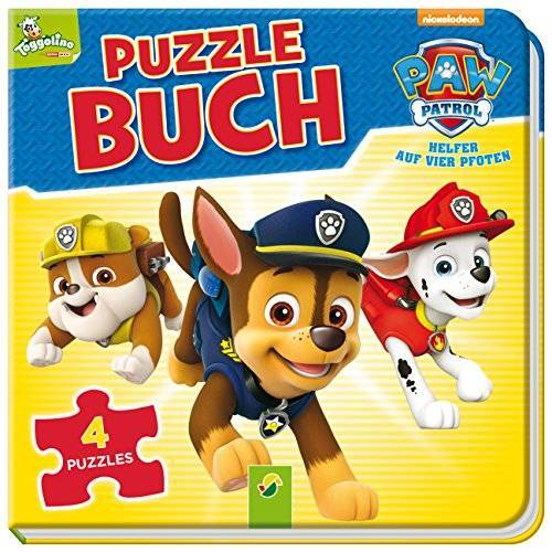 Katharina Bensch - PAW Patrol Puzzlebuch: Mit 4 Puzzles á 12 Teilen - Preis vom 27.02.2021 06:04:24 h