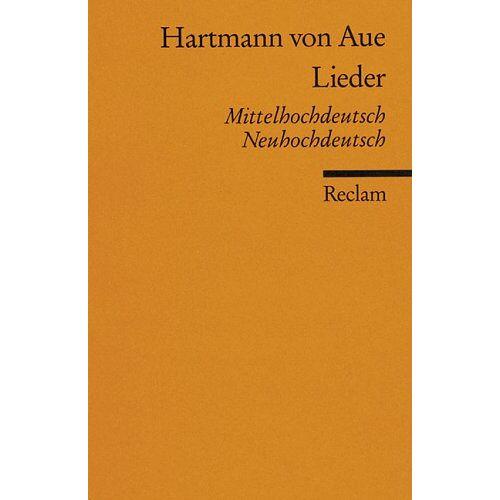 Hartmann von Aue - Lieder - Mittelhochdeutsch / Neuhochdeutsch - Preis vom 19.10.2020 04:51:53 h