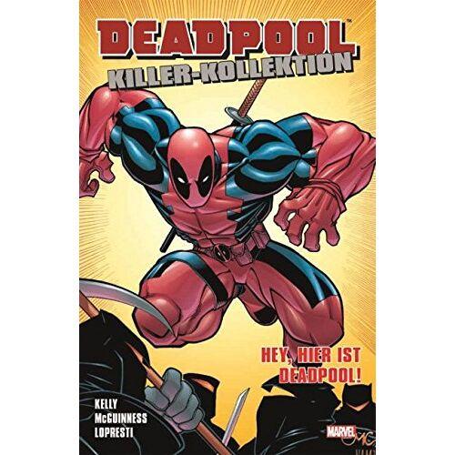 Joe Kelly - Deadpool Killer-Kollektion: Bd. 2: Hey, hier ist Deadpool! - Preis vom 27.02.2021 06:04:24 h