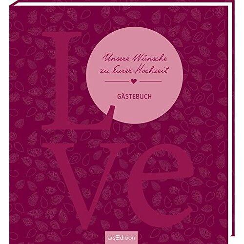 - Unsere Wünsche zu Eurer Hochzeit: Gästebuch - Preis vom 26.02.2020 06:02:12 h