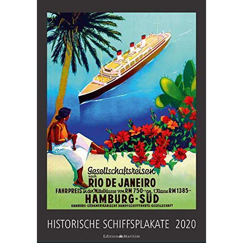 - Historische Schiffsplakate 2020 - Preis vom 20.10.2020 04:55:35 h