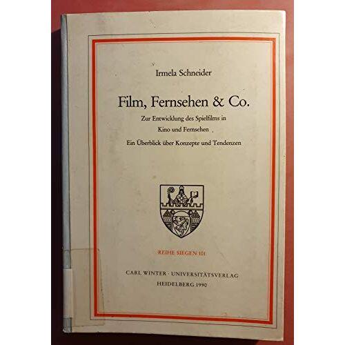 Irmela Schneider - Film, Fernsehen und Co. - Preis vom 12.05.2021 04:50:50 h