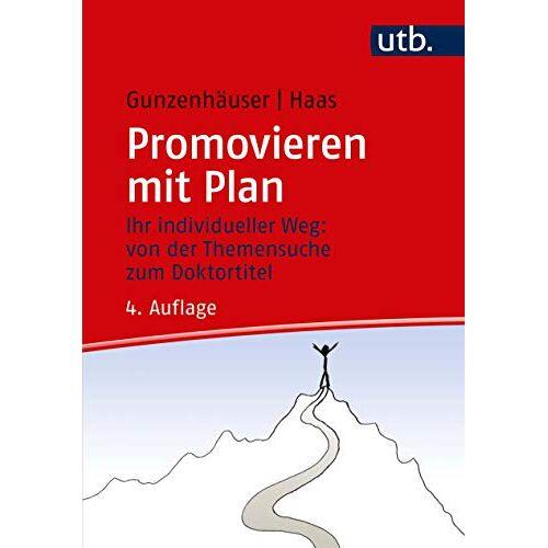 Randi Gunzenhäuser - Promovieren mit Plan - Preis vom 14.01.2021 05:56:14 h
