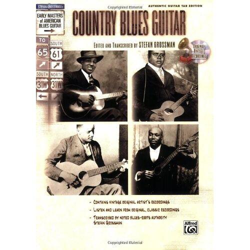 Stefan Grossman - Stefan Grossman's Early Masters of American Blues Guitar: Country Blues Guitar - Preis vom 20.10.2020 04:55:35 h
