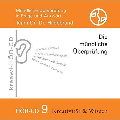 - Hör-CD Die mündliche Überprüfung 9: Mündliche Überprüfung in Frage und Antwort - Preis vom 19.10.2020 04:51:53 h