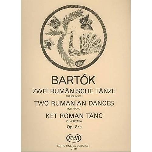 - 2 Rumaenische Taenze Op 8 a. Klavier - Preis vom 18.04.2021 04:52:10 h