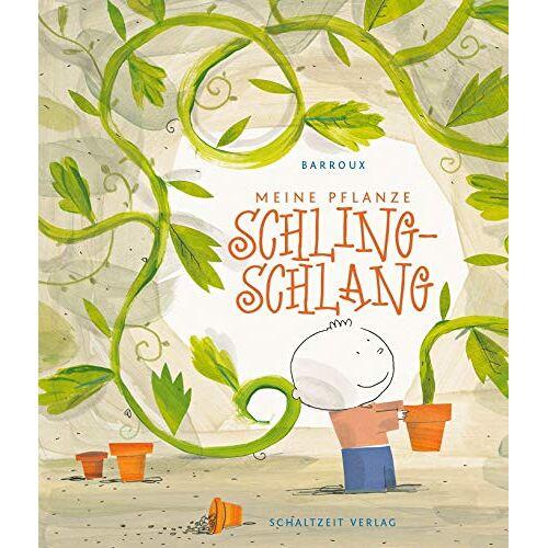 S. Barroux - Meine Pflanze Schling-Schlang: Besonderes Bilderbuch mit Pop-up über eine gefräßig, nimmersatte Pflanze – ab 4 Jahren - Preis vom 08.05.2021 04:52:27 h
