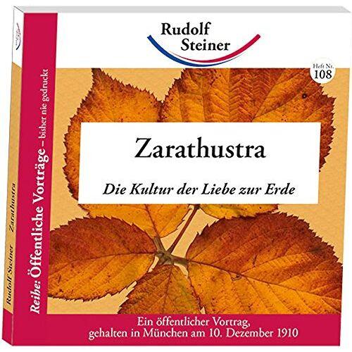 - Zarathustra: Die Kultur der Liebe zur Erde - Preis vom 07.05.2021 04:52:30 h