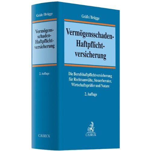 Jürgen Gräfe - Vermögensschaden-Haftpflichtversicherung: Die Berufshaftpflichtversicherung für Rechtsanwälte, Steuerberater, Wirtschaftsprüfer und Notare - Preis vom 20.10.2020 04:55:35 h