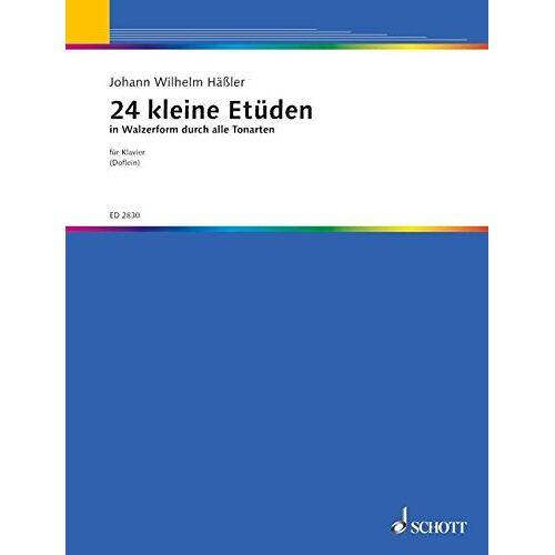 Erich Doflein - 24 kleine Etüden in Walzerform: durch alle Tonarten. Klavier. - Preis vom 18.04.2021 04:52:10 h