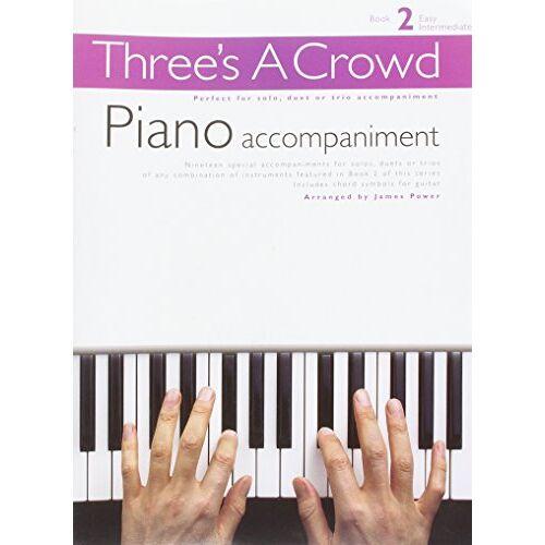 Various - Three'S A Crowd Book 2 Piano Accompaniment Psg - Preis vom 05.05.2021 04:54:13 h