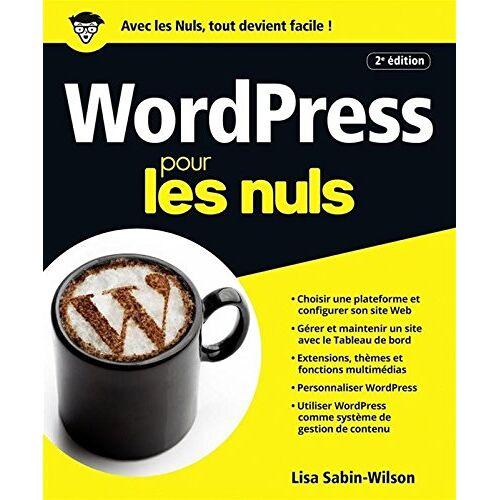 - WordPress pour les nuls - Preis vom 20.10.2020 04:55:35 h
