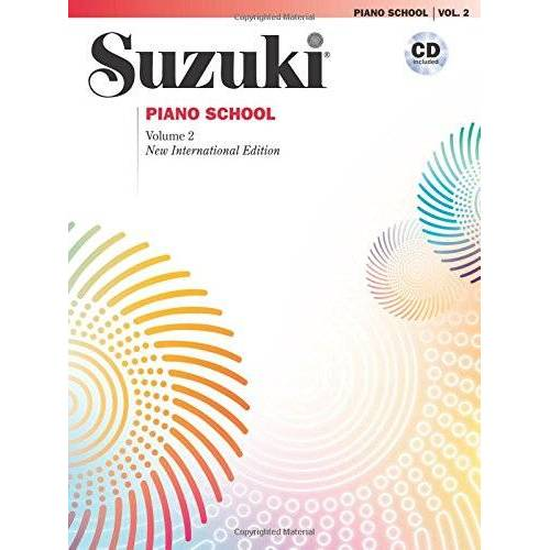 Suzuki, Dr. Shinichi - Suzuki Piano School New International Edition Piano Book and CD, Volume 2 (Suzuki Method Core Materials) - Preis vom 23.01.2021 06:00:26 h
