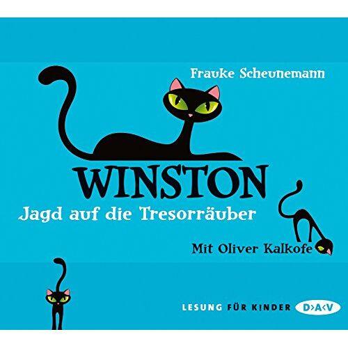 Frauke Scheunemann - Winston - Teil 3: Jagd auf die Tresorräuber: Lesung mit Oliver Kalkofe (3 CDs) - Preis vom 22.01.2020 06:01:29 h