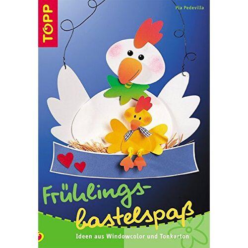 Pia Pedevilla - Frühlingsbastelspass: Ideen aus Windowcolor und Tonkarton - Preis vom 20.01.2021 06:06:08 h