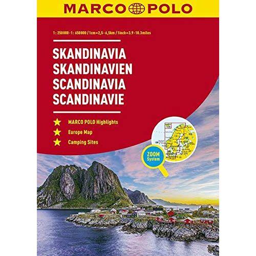 - MARCO POLO Reiseatlas Skandinavien 1:250.000 / 1:650.000 (MARCO POLO Reiseatlanten) - Preis vom 20.10.2020 04:55:35 h