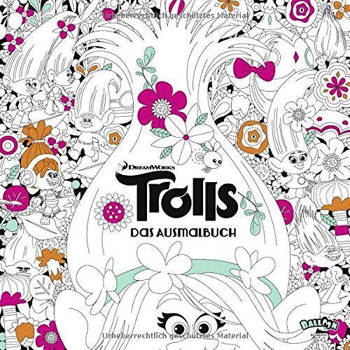 DreamWorks - Trolls - Das Ausmalbuch - Preis vom 06.04.2021 04:49:59 h